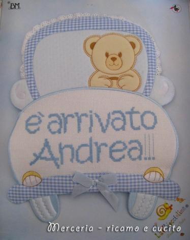 coccarda-fiocco-nascita-macchina-per-Andrea
