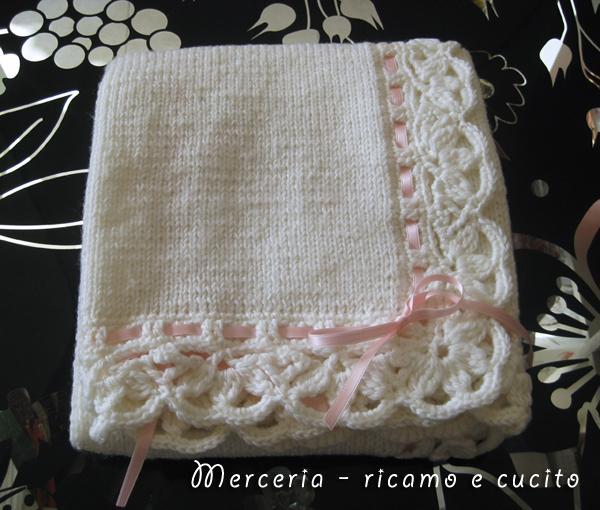 Amato Copertina in lana per neonato | Gift EB56