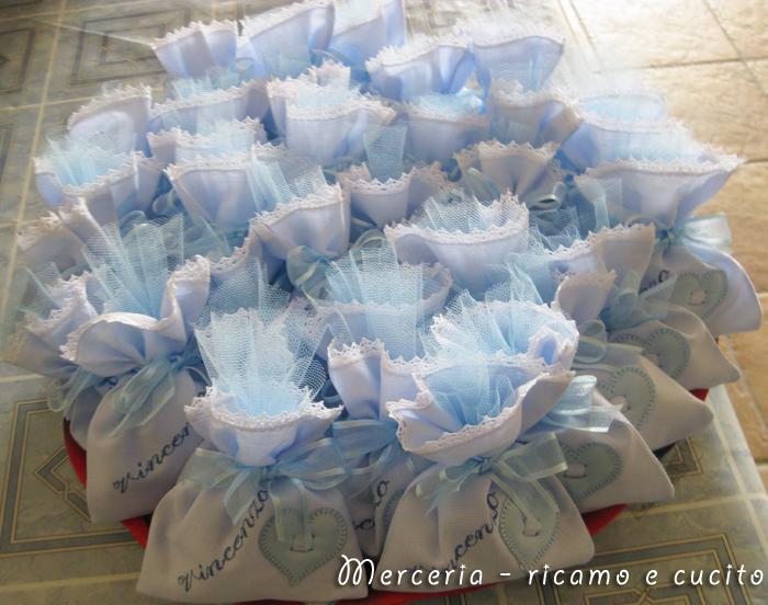 spesso Sacchettini bomboniere portaconfetti per Vincenzo | Gift RC17
