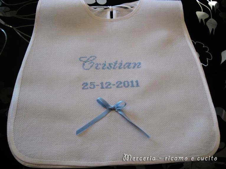 Bavaglino-Battesimo-per-Cristian