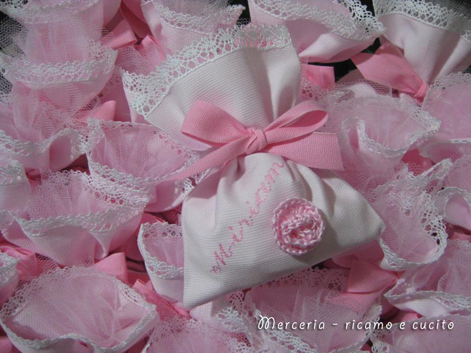 Favoloso Sacchettini bomboniere portaconfetti per Miriam | Gift SH98