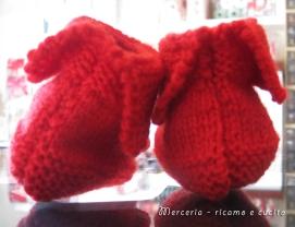 scarpette-neonato-di-lana-ai-ferri-rosso-2