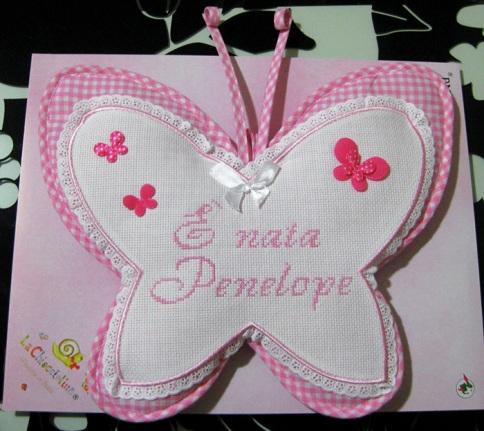 coccarda-fiocco-nascita-farfalla-Penelope