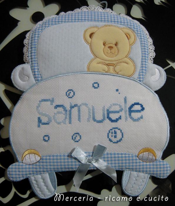 coccarda-fiocco-nascita-macchina-per-Samuele-1