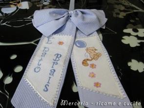 coccarda-fiocco-nascita-con-gatto-per-Brais-1