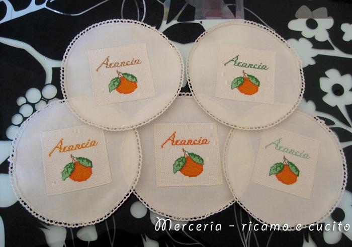 Copribarattoli per confettura di arance