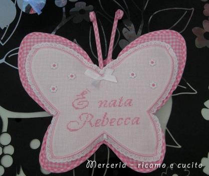 coccarda-fiocco-nascita-farfalla-per-Rebecca