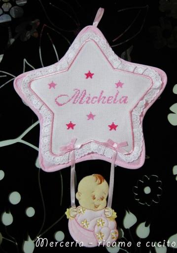 coccarda-fiocco-nascita-stella-per-Michela