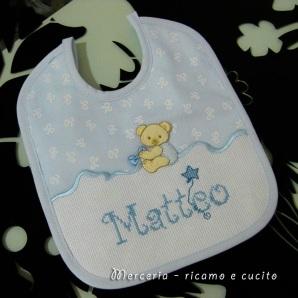 Bavaglino-Bavetta-con-orsacchiotto-per-Matteo-2