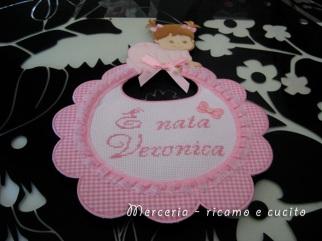 coccarda-fiocco-nascita-bavetta-per-Veronica-1