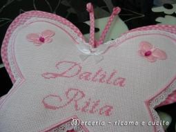 coccarda-fiocco-nascita-farfalla-per-Dalila-Rita-1