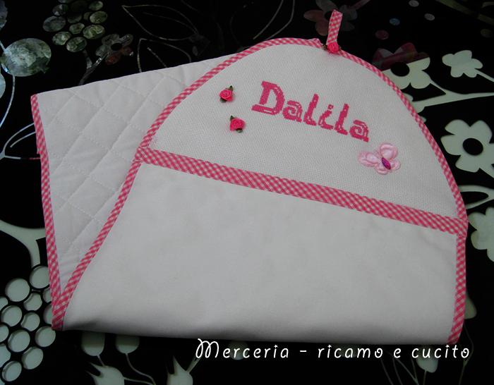 Porta pannolini per Dalila