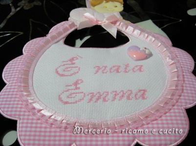 coccarda-fiocco-nascita-bavetta-per-Emma-1