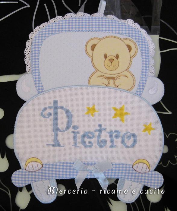 Fiocco nascita macchina per Pietro