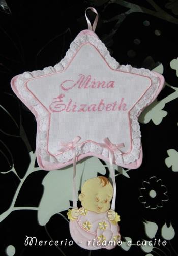 coccarda-fiocco-nascita-stella-per-Mina-Elizabeth