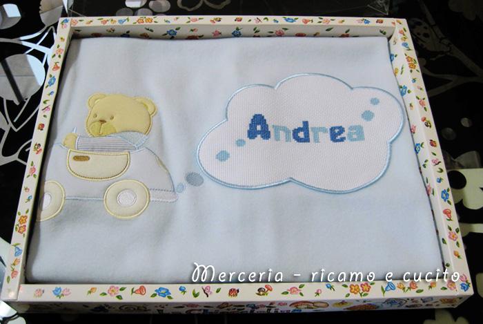Copertina con macchina per Andrea
