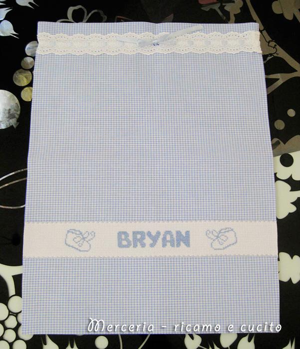 Sacchetto nascita per Bryan