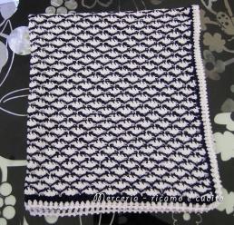 Baby-blanket---Copertina-in-cotone-all'uncinetto-per-carrozzina-4