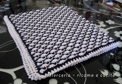 Baby-blanket---Copertina-in-cotone-all'uncinetto-per-carrozzina