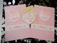 Bavetta,-fiocco-orsetto-con-cuore-e-sacchetti-nascita-per-Melissa