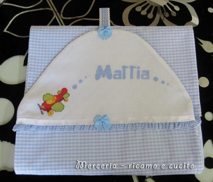 Amato Porta pannolini con aeroplano per Mattia – GIFT PW99