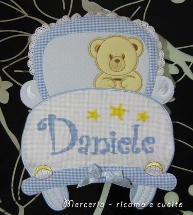 Fiocco nascita macchina per Daniele