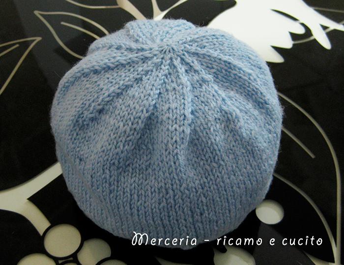 abbastanza Cappellino in lana per neonato con spirale – GIFT TU85