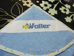 Accappatoio neonato per Walter