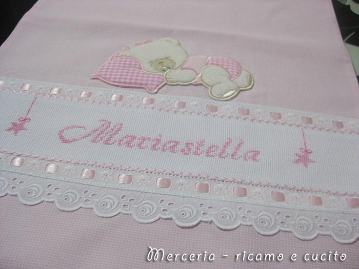 Favoloso Sacchetti nascita con orsetto per Gabriele e Mariastella | Gift NW83