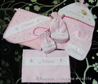 Corredino neonata per nascita Rebecca