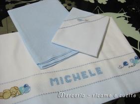 Set lenzuolino per Michele
