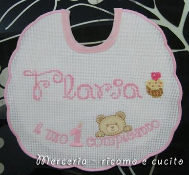 """Bavetta """"il mio primo compleanno"""" per Flavia"""