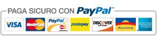 Pagamento con paypal e carta di credito