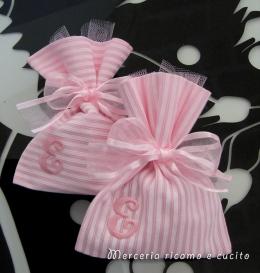 Sacchettini bomboniere portaconfetti per ElisaSacchettini bomboniere portaconfetti per Elisa