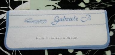 Set asilo - Sacchetti e asciugamani per Gabriele