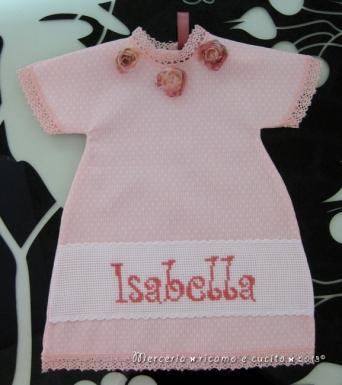 """Maglietta auto """"bimba a bordo"""" per Isabella"""
