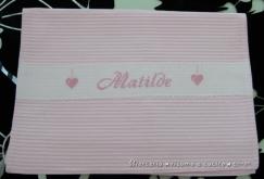 Coccarda-fiocco-nascita-mongolfiera-rosa-e-sacchetto-rigato-per-Matilde-1