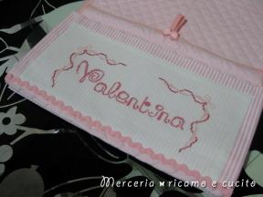 Pannello porta oggetti per Valentina