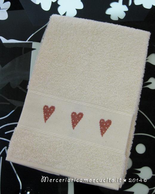 Coppia asciugamani in spugna per Ricky e Perla