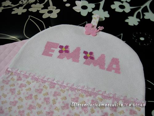 Porta pannolini per Emma e maglietta auto per Mia