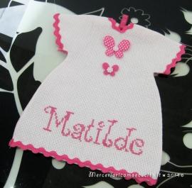 """Maglietta auto """"bimba a bordo"""" per Matilde"""