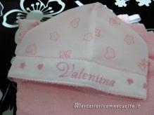 Accappatoio con cappuccio per Valentina