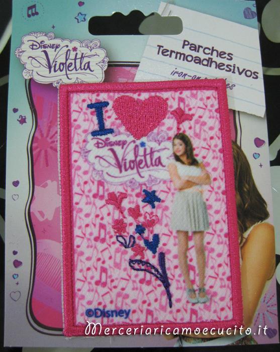 Applicazione termoadesiva Violetta
