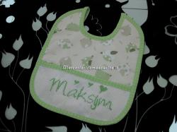 Bavette personalizzate per Maksym