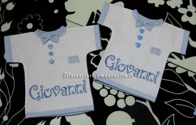 """Magliette auto """"bimbo a bordo"""" per Giovanni"""