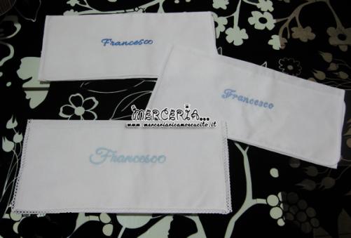 Asciugamano in cotone personalizzato per Francesco
