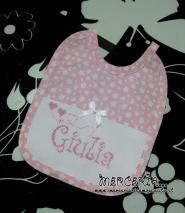 Bavette personalizzate per Giulia