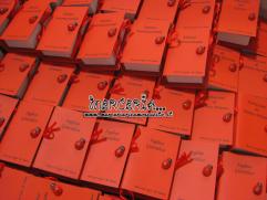 Bomboniera portaconfetti a forma di libro con esami Laurea in giurisprudenza per M. Ilenia