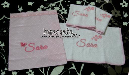 sacchetto-nascita-e-asilo-e-asciugamani-in-spugna-per-sara