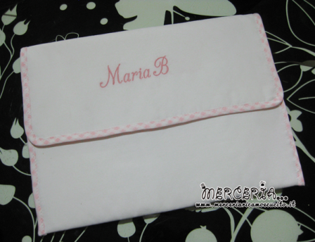 Busta portaoggetti per Maria B.